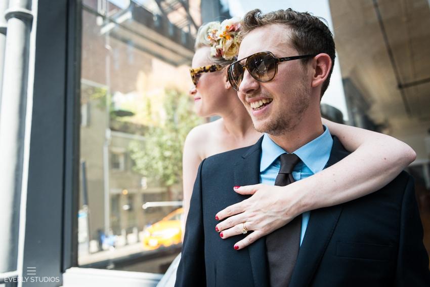New York City Hall wedding. Photos by Everly Studios, www.everlystudios.com