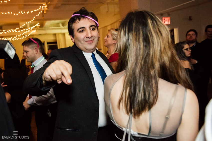 Midtown Loft and Terrace wedding photos. Photos by New York wedding photographer Everly Studios, www.everlystudios.com